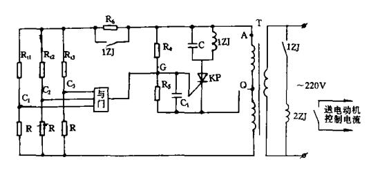 GY205电动机保护监控装置原理图